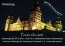 30.01.20 Poesie à la carte im Schloss